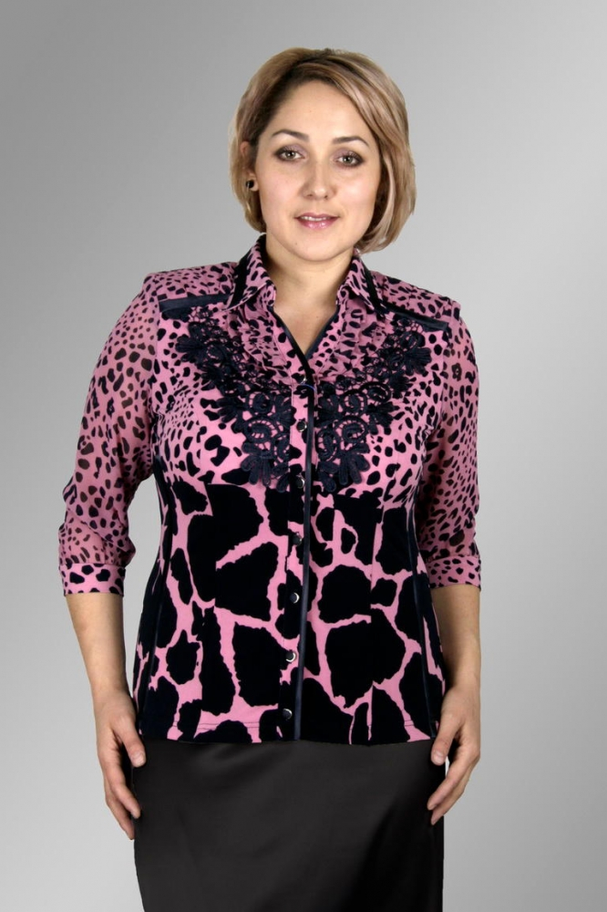0be4de52594db Блузка Лика 1-5 — купить со склада оптом по цене от производителя — интернет-магазин  Alonamoda.ru